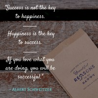 Success is Not the Key to Happiness