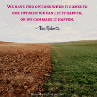 We have two options when it comes to our futures