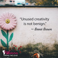 """Unused Creativity is not Benign."""
