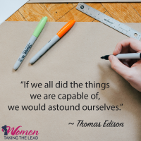 """""""If we all did the things we are capable of…"""""""
