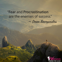 Fear and procrastination