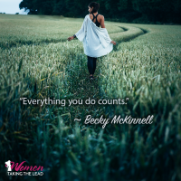 Everything you do counts