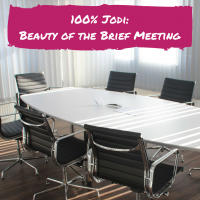 100% Jodi: Beauty of the Brief Meeting